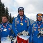 M SR Jasna 2008, Stupne vitazov, obrovsky slalom, Jaroslav Babusiak, Ivan Hemschild, M. Koša